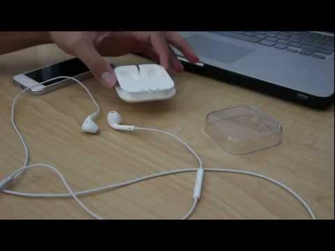 วิธีการเก็บหูฟัง EarPods