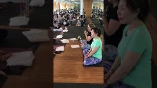 Creative Yogis Children's Yoga in China - the prayer