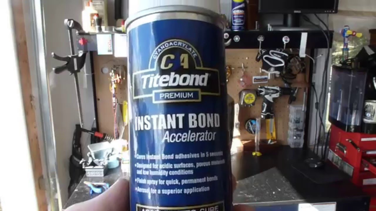 Fix It Friday: How to Use Super Glue and an accelerator