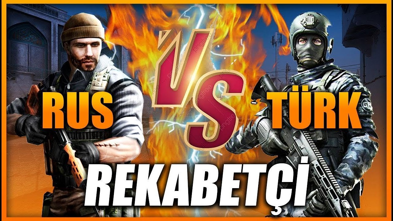 TÜRKİYE VS RUSYA CS:GO REKABETÇİ MAÇI !