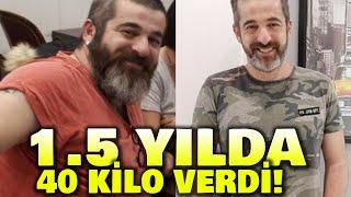 Kayra Şenocak 1,5 yılda 40 kilo verdi
