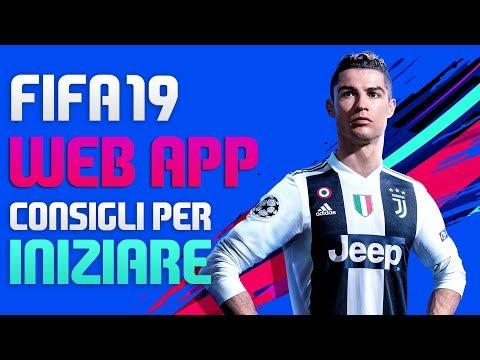 WEB APP FIFA 19 - CONSIGLI PER INIZIARE, FARE CREDITI, COMPRAVENDITA Ecc.