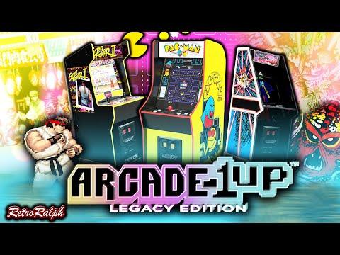 Arcade1up - CES 2021 - Legacy Collection - Capcom, Namco, Atari! from Retro Ralph