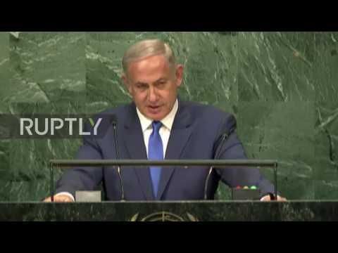 United Nations: Netanyahu calls UN 'a joke' and 'a moral farce'