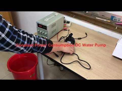 Constant Power Consumption DC Water Pump