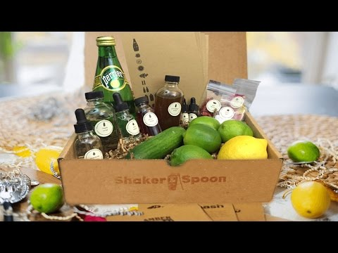 Shaker & Spoon | Unboxing, Alcoholic Drinks, and Review