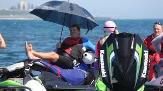 Jet Ski TV Adventure Ride - Cook Island NSW Jan 2015