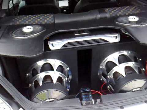 Dual jbl powered by cutting edge doovi for 20000 watt tahoe window shake