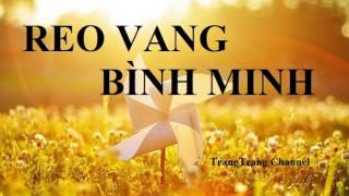 Bà Hát Reo Vang Bình Minh    BEAT    Nhạc Thiếu Nhi Hay Nhất