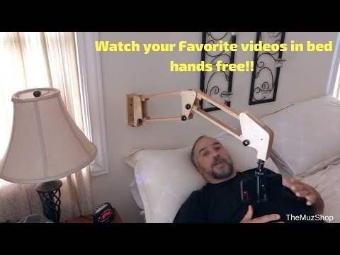 iPhone Wall Mount Holder for Your Bed