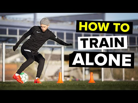 How to practice football ALONE
