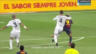 مباراة برشلونة vs ريال مدريد  تعليق الشوالي اياب السوبر الاسباني2012-HD720
