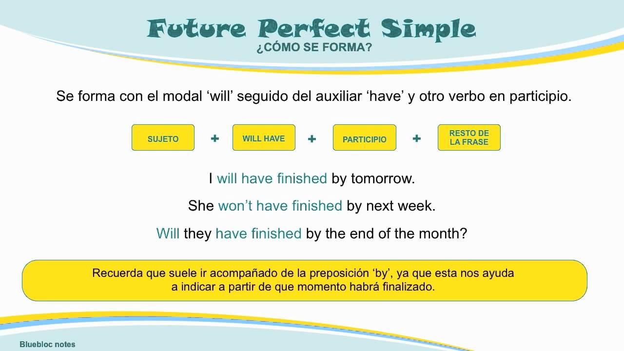 Tiempo futuro simple en ingles