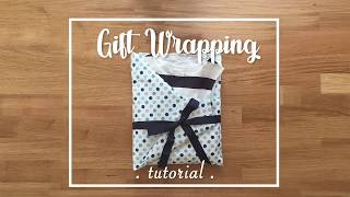 Crafty Mami - Clothing Gift Wrapping Tutorial
