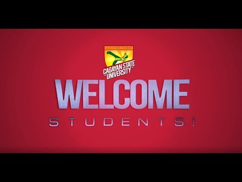Together, Let's Make Your Dreams Happen. Welcome To CAGAYAN STATE UNIVERSITY.