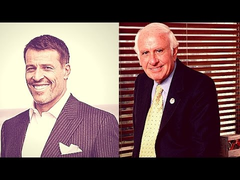 Tony Robbins & Jim Rohn - Learning How To Become A Leader