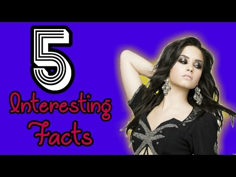 5 Interesting Facts About Demi Lovato