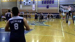 Boys Volleyball: Chatsworth vs. Mesa [AZ] (2018 Las Vegas Silver Finals)