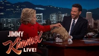 Hillary Clinton Tries to Read Donald Trump Quotes with a Straight Face
