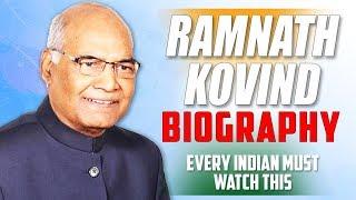 Ramnath Kovind Biography   President of India   Must Watch