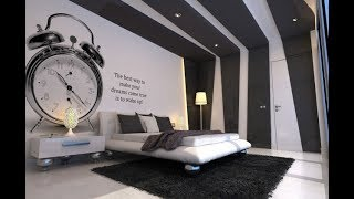 Top 40 Wall Design Ideas For Bedroom | Wallpaper Painting Decorations DIY 2018