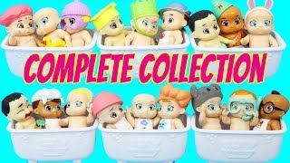 BABY SECRETS DOLLS Boy or Girl Color Change & COMPLETE COLLECTION Surprise Blind Bag Bath Tubs