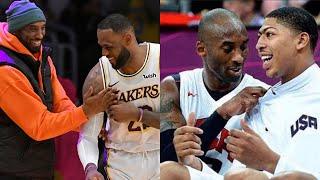 Lebron James and Anthony Davis Get Kobe Bryant Tattoos