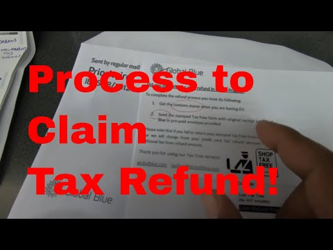 Tax Free Shopping In Europe? &  Shopping Tax Refund At Airport?