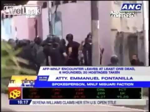Moro National Liberation Front Clashes with Armed Forces of the Philippines