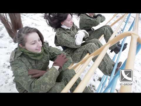 Суперское поздравление с 23 февраля от женского коллектива! - Видео из ютуба