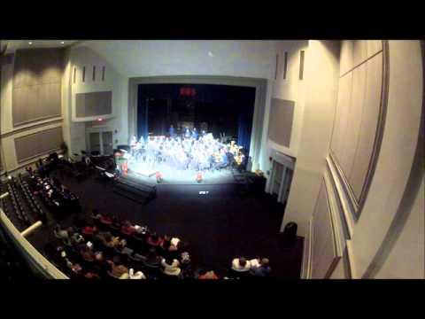 "Bon Lin Middle School Concert Band performs ""Bobsled Run"""