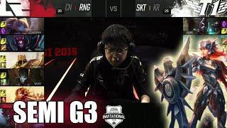 RNG vs SKT T1   Game 3 Semi Finals LoL MSI 2016   Royal Never Give Up vs SK Telecom T1 G3 MSI