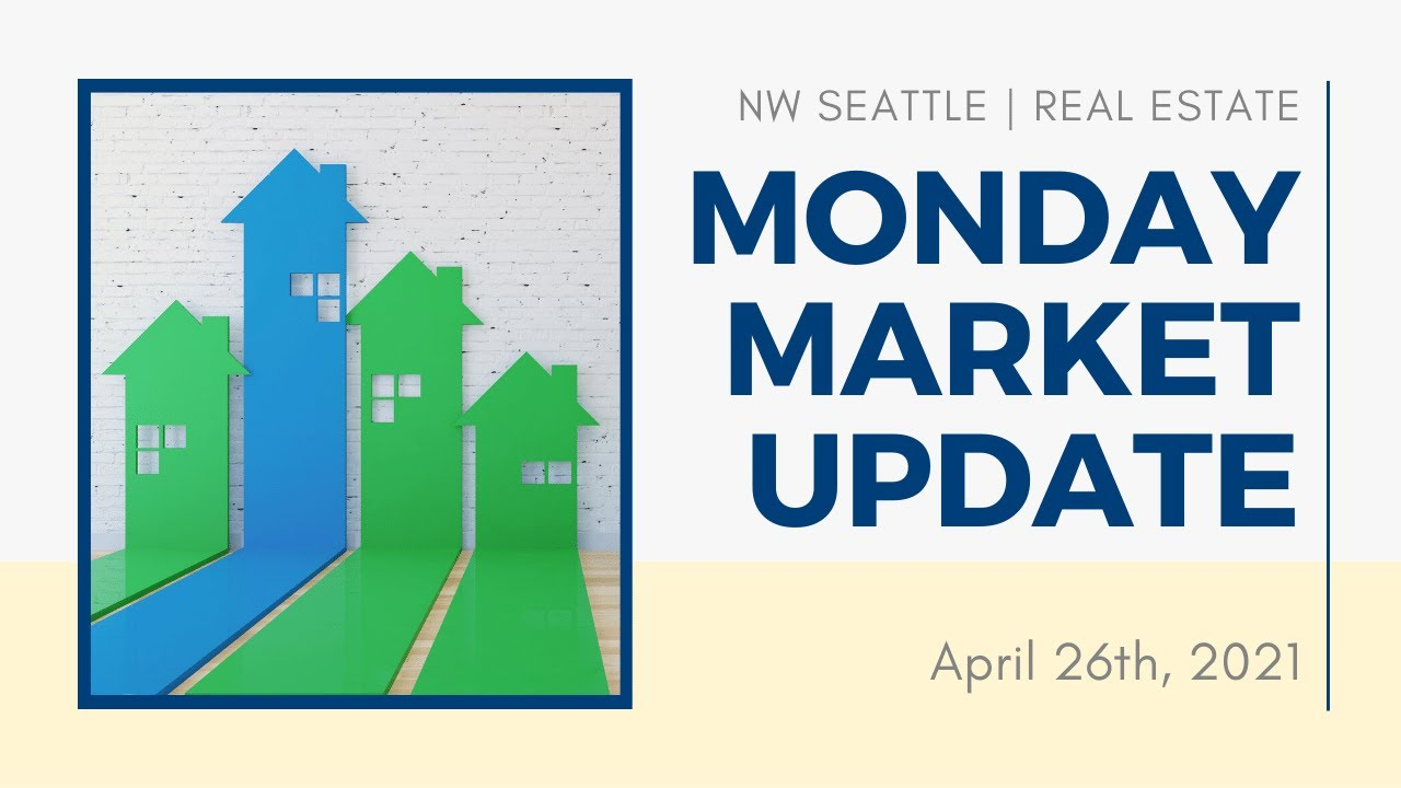 Monday NW Seattle Real Estate Market Update | April 26th, 2021