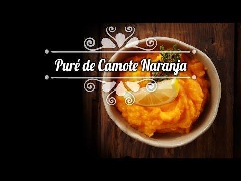 Chef Oropeza Recta: Puré De Camote Naranjado-Sweet Potato Puree Recipe