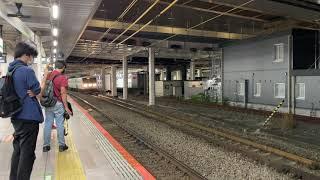 2021/06/18 185系 A6編成 廃車回送 立川駅 23:06
