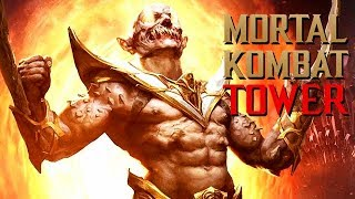 Mortal Kombat 11 Baraka Gameplay German Klassic Tower Story