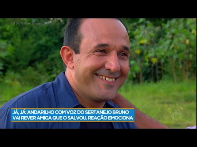 Familiares de Fabiano se surpreendem ao vê-lo reabilitado