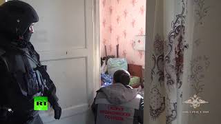 Видео освобождения 13 летней заложницы в Омске