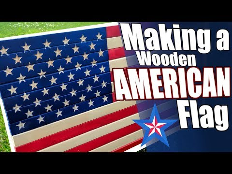 DIY Wood American Flag & My Thoughts on Patriotism