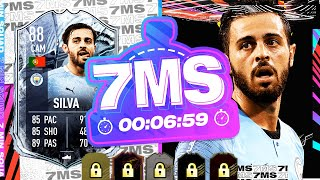 WHAT A CARD THIS IS!! 88 CAM FREEZE BERNARDO SILVA 7 MINUTE SQUAD BUILDER - FIFA 21 ULTIMATE TEAM