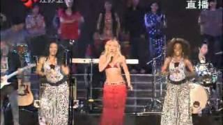 江苏卫视跨年演唱会——夏奇拉。。。给力的电臀