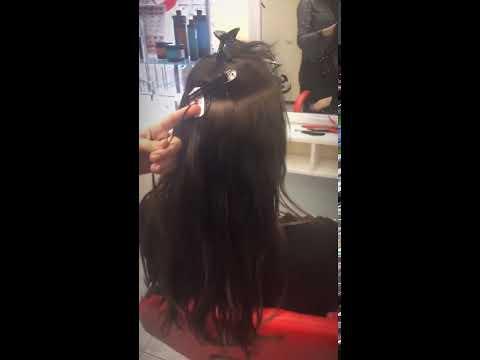 Наращивание волос салон красоты La Familia Salon семейная парикмахерская Гагарина Бровары