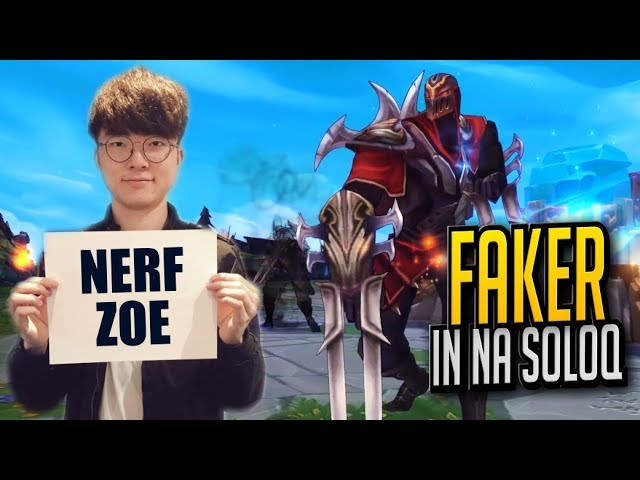Faker Playing in NA SoloQ (2017)