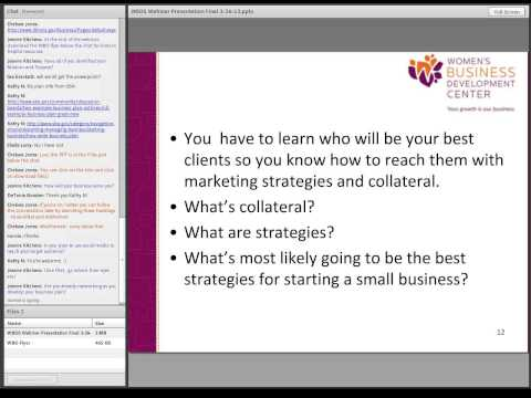 Women Business Owners Webinar
