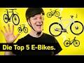 Die besten E-Bikes 2020  E-Bike Vergleich - YouTube