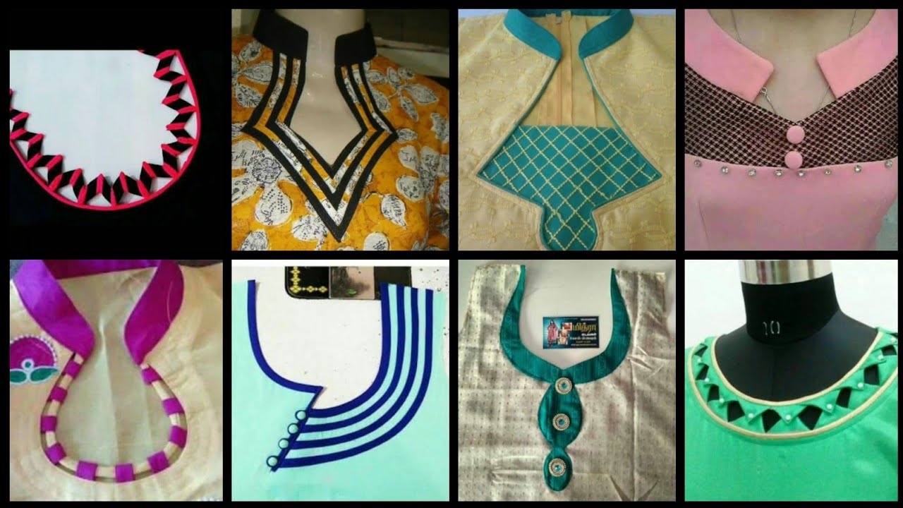 New Latest Neck Designs For Kurti Churidar Neck Designs Salwar Suit Neck Designs Gale K Design Youtube