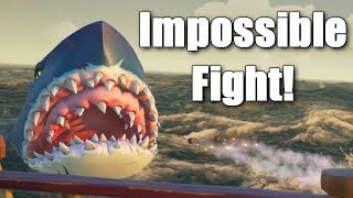 Sea of Thieves - The Hardest Megalodon Fight!