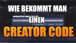 FORTNITE CREATOR CODE UND CUSTOM GAMES BEKOMMEN 2020🔥FORTNITE Support a Creator Code erstellen🔥✅