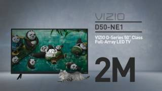 "All-New VIZIO D50n-E1 D-Series 50"" Class Full‑Array LED TV // Full Specs Review  #VIZIO"