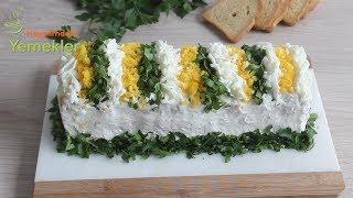 Kendini Pasta sanan Yoğurtlu Tavuklu Etimek Salatası -Etimek Salatası Nasıl Yapılır